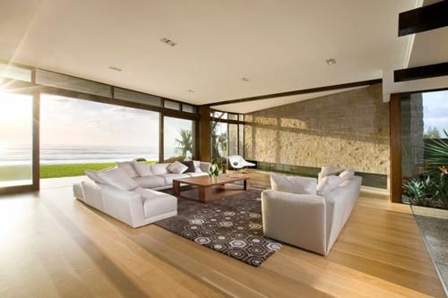 modernes haus große wohnzimmer einrichten wohnzimmer einrichten ...