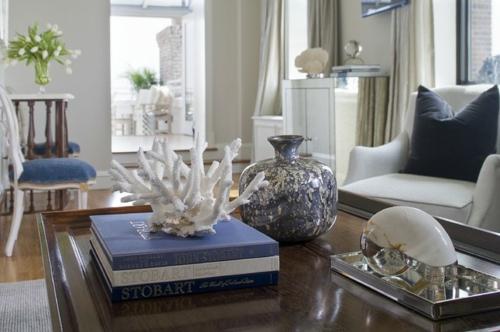 Dekoration und Accessoires fürs schöne Zuhause bücher meeresthema