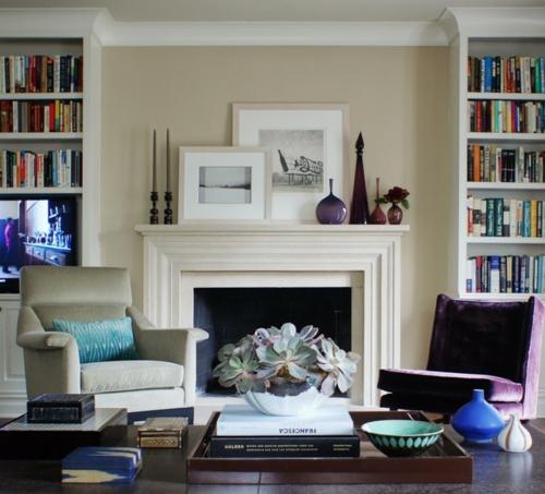 Dekoration und Accessoires fürs schöne Zuhause einbaukamin traditionell