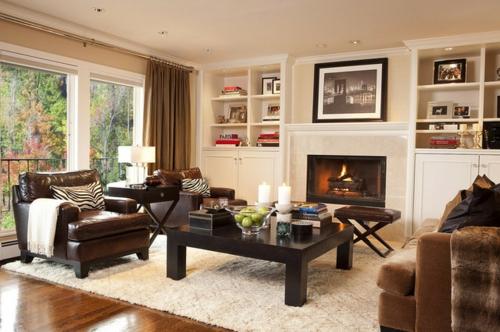 Dekoration und Accessoires fürs schöne Zuhause modern wohnzimmer