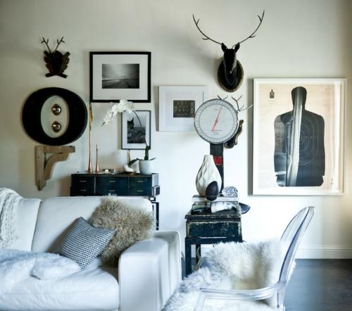 Dekoration und Accessoires fürs schöne Zuhause wandbilder rahmen schwarz