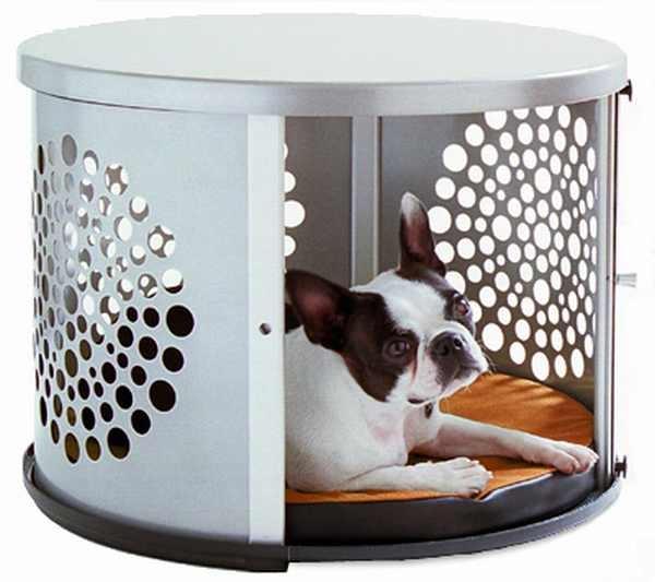 Designer Möbel und Accessoires für Haustiere hundhaus metall
