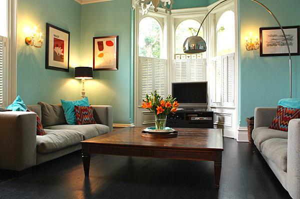 Wie w hlt man farbpaletten und strategien beim interior design - Wandfarbe pfirsich ...