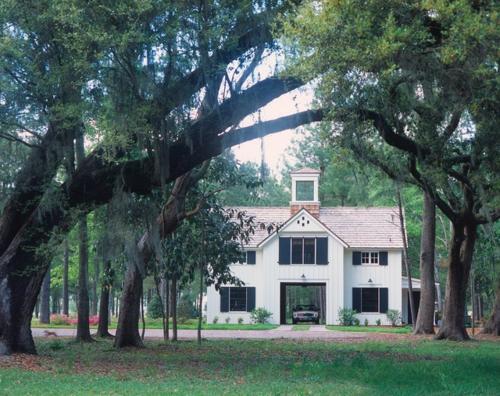 Gartenhaus im Hinterhof baum grasfläche außenbereich traditionell