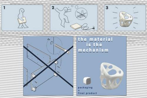 High tech Möbel Designs idee originell stühle entwurf