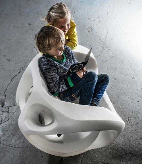 High tech Möbel Designs idee originell stühle kinder