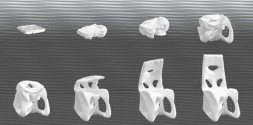 High tech Möbel Designs idee originell vielfalt