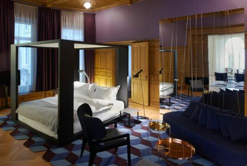 Himmelbetten aus Holz im Schlafzimmer elegant wohnung
