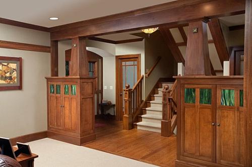 Interior Design Ideen in Craftsman Stil holz details