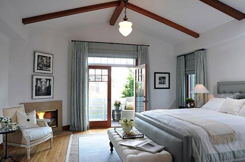 Interior Design Ideen in Craftsman Stil neugestaltetes schlafzimmer