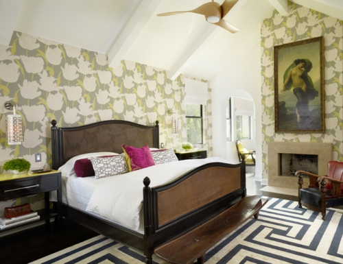 Interior Designs mit cooler Dekoration schlafzimmer bettwäsche