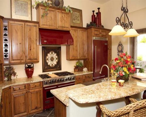 Küchen Designs klassisch einrichtung spüle wasserhahn