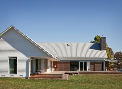 Fertighaus bauernhaus  Missouri Bauernhaus - Modernes und Traditionelles in einem kombiniert