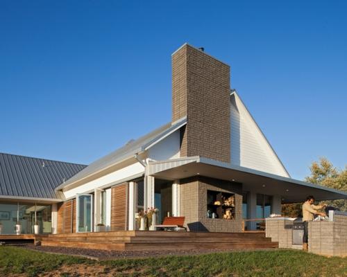 Modernes Bauernhaus missouri bauernhaus modernes und traditionelles in einem kombiniert