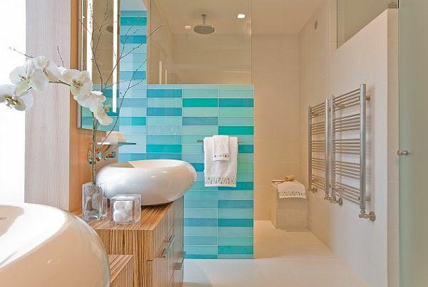 moderne badezimmer ideen luxus komfort badewanne fliesen waschbecken