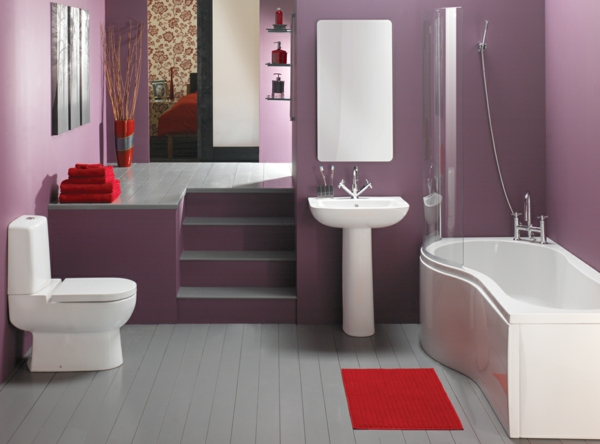 Badezimmer Graue Wand Moderne Badezimmer Ideen Fr Mehr Luxus Und Komfort Luxus  Badezimmer Grau