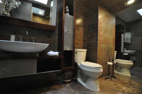 15 moderne badezimmer ideen f r mehr luxus und komfort. Black Bedroom Furniture Sets. Home Design Ideas