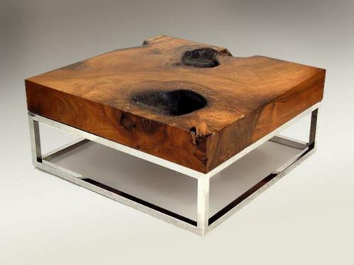 Couchtisch modernes design  couchtisch modernes design holz marmor weiss kombination ...