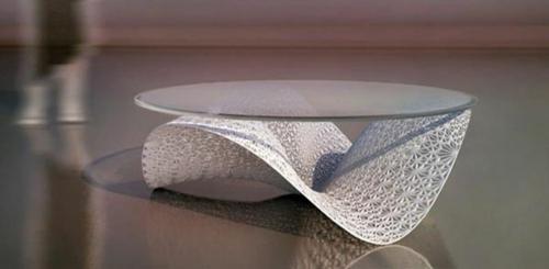 Moderne attraktive couchtische f rs wohnzimmer 50 coole bilder - Ovale wandregale ...