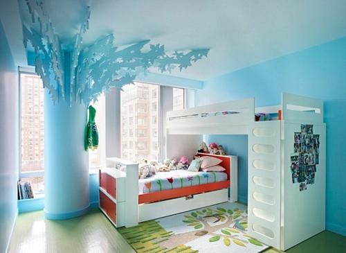 kinderzimmer kinderzimmer farbe blau pastell farbpalette beim interieur design verwenden 24 coole ideen - Farbpalette Blau