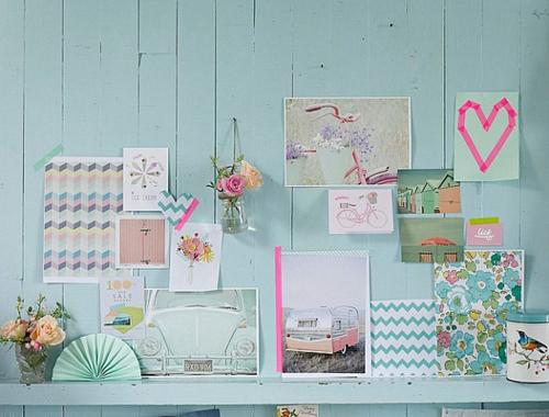 Pastell Farbpalette beim Interieur Design verwenden – 24 thematische