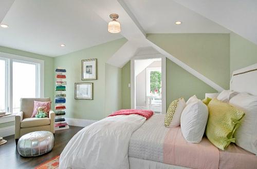 wandfarbe schlafzimmer pastell – secretstigma, Modernes haus