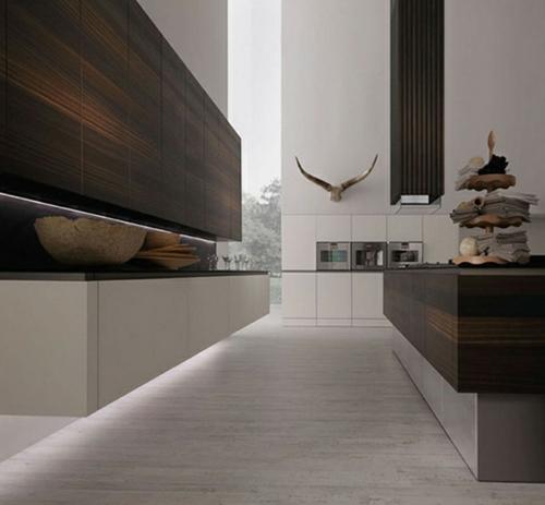 Raue ausgefallene Küchen Designs küchenschrank holz rational