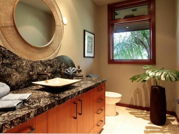 Residenz auf Hawaii mit einem sehr kreativen Design bad waschtisch