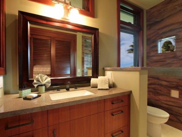 Residenz auf Hawaii mit einem sehr kreativen Design badezimmer spüle