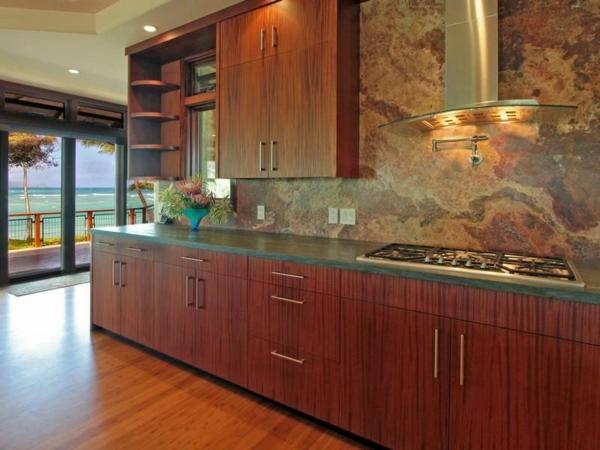 Immobilie auf Hawaii mit einem sehr kreativen Design küche platte