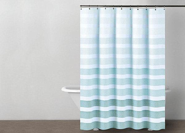 Coole ideen f r sommer dekoration im schlafzimmer und bad for Coole duschvorha nge