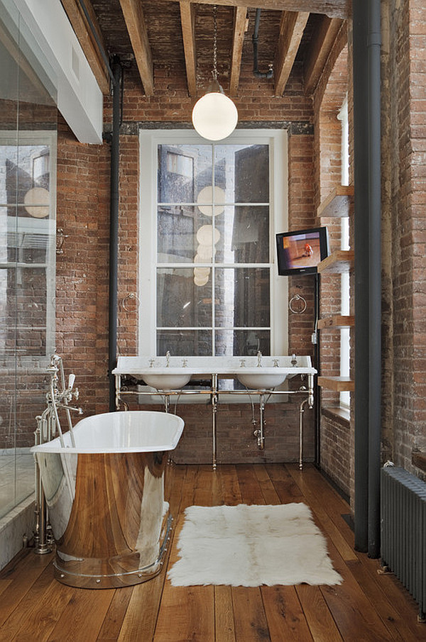 badezimmer rustikal und trotzdem cool digritcom for - Bad Rustikal Gestalten