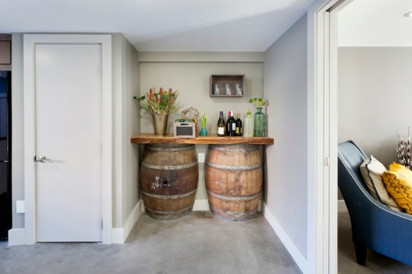 Alte f sser wiederverwenden 10 kreative wege bei der hausgestaltung - Hausgestaltung ideen ...