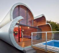 Attraktives designer haus hebt die moderne architektur in for Designer haus