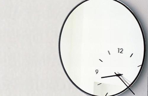 Wanduhr Ausgefallen 10 ausgefallene spiegel wanduhr designs zwei funktionen in einem