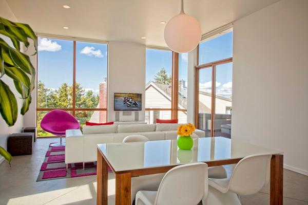 ausgefallenes Interior Design - Akzent setzende Stühle esszimmer