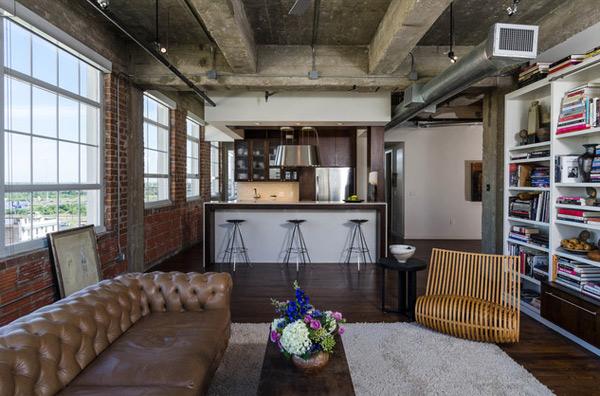 ausgefallenes Interior Design - Akzent setzende Stühle luxus leder sofa