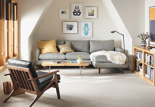 ausgefallenes Interior Design - Akzent setzende Stühle sitzecke sofa