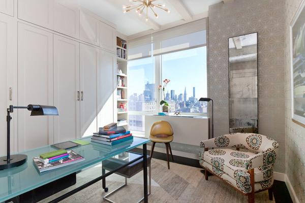 ausgefallenes Interior Design - Akzent setzende stühle dekoriert