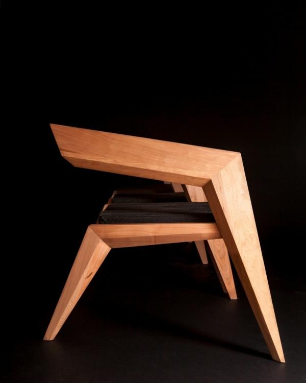 Feiern avantgarde minimalismus 2r avantgarde holz stuhl for Minimalismus haustiere