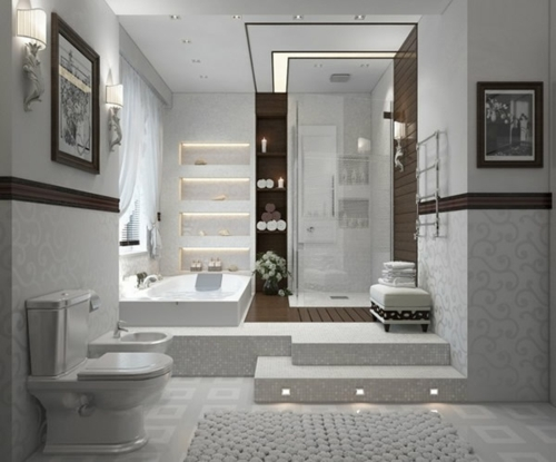 badezimmer design bilder ideen indirekt beleuchtung wc 75 coole bilder von badezimmern deko ideen die sie unbedingt sehen mssen