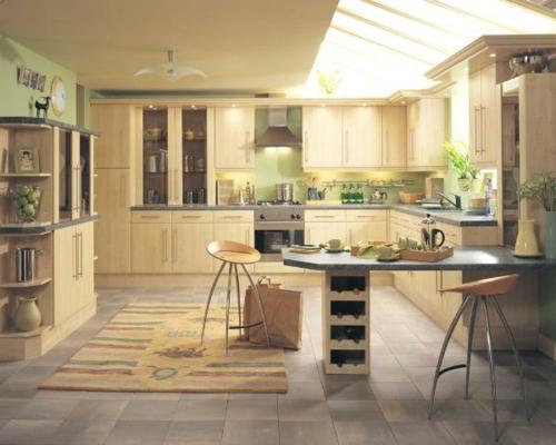 barhocker lehne metall beine teppich fliesen fußboden küche