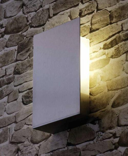 beleuchtung für garten und veranda interessante wandlampe