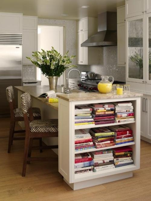 bessere Bäckerei zu Hause kochbücher regale kücheninsel