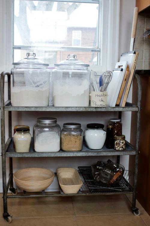 bessere Bäckerei zu Hause regale behälter mehl gewürze