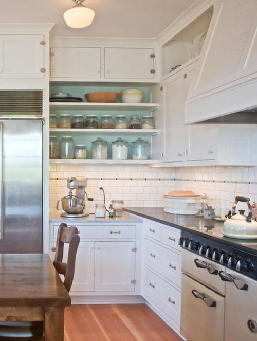 bessere Bäckerei zu Hause regale küchenspiegel fliesen