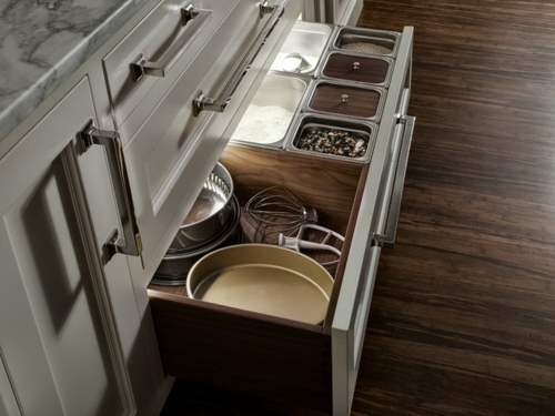 bessere Bäckerei zu Hause schubladen marmor ähnlich kochofen