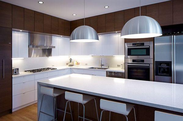 Braun Weiß Küche Umgestaltung Modern Einrichtung Die Küche Neu Gestalten U2013  Auffallende Küchen Design Ideen Für Ein Besseres Ambiente ...