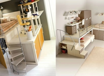 bunte tolle hochbetten f r kinder und erwachsene vervorragende ideen. Black Bedroom Furniture Sets. Home Design Ideas