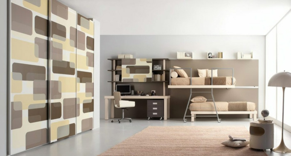 bunte tolle hochbetten f r kinder und erwachsene. Black Bedroom Furniture Sets. Home Design Ideas